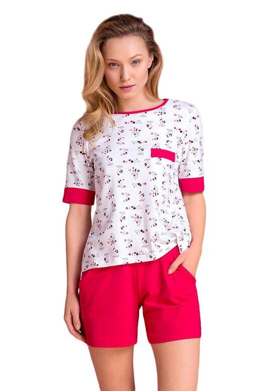 Dámske pyžamo Klaudie psíkovia - darčekové balenie