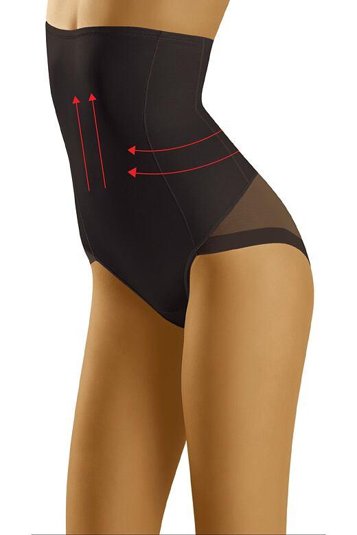 Zoštíhľujúce a modelujúce nohavičky Suprima čierne
