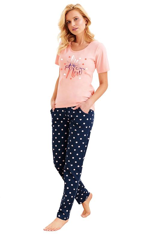 Dámske pyžamo Nadia lososové