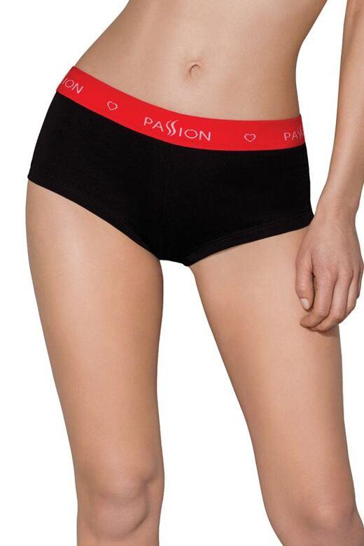 Dámske športové nohavičky boxerky PS003 čierne - darčekové balenie