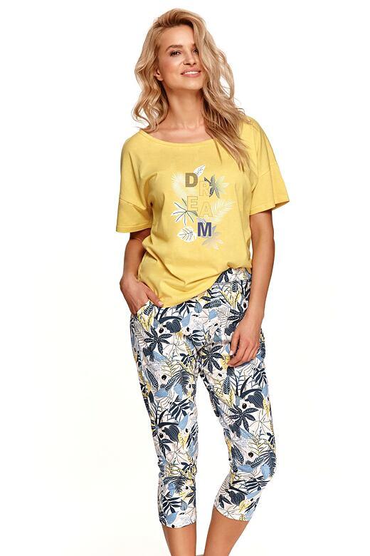 Dámske pyžamo Kali žlté