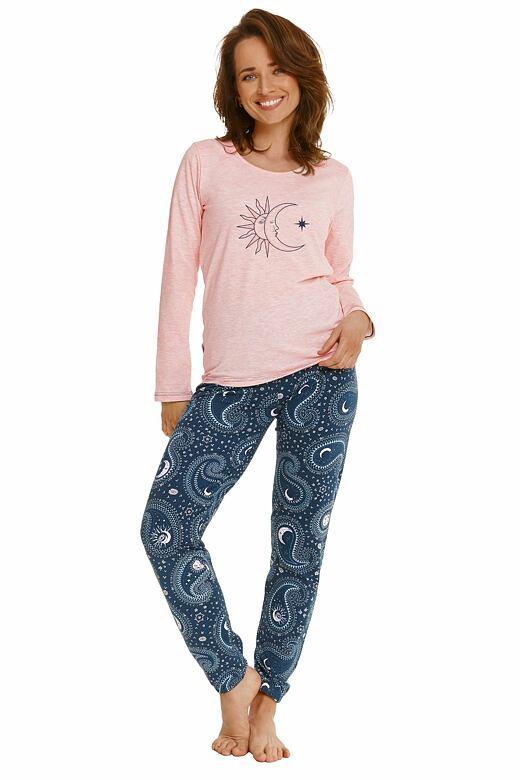 Dámske pyžamo Gaja ružové
