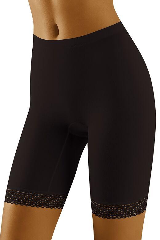 Dámske nohavičkové nohavičky Rona čierne