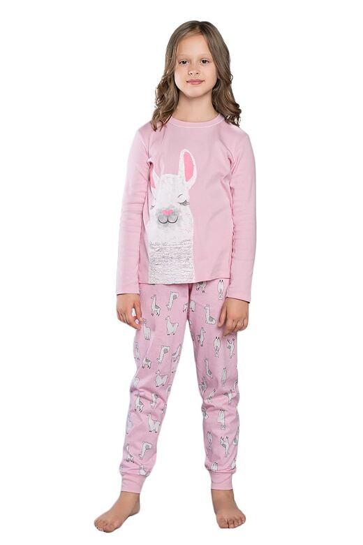 Dievčenské pyžamo Peru ružové
