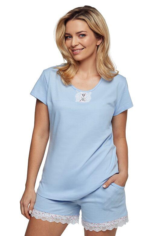 Luxusní dámske pyžamo Lauren modré