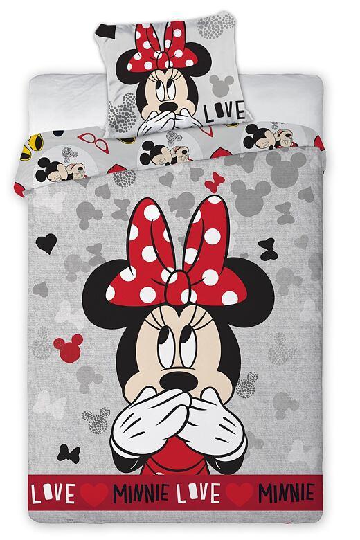 Obliečky Minnie Love