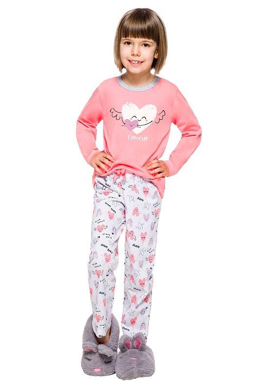 Detské pyžamo Maja ružové