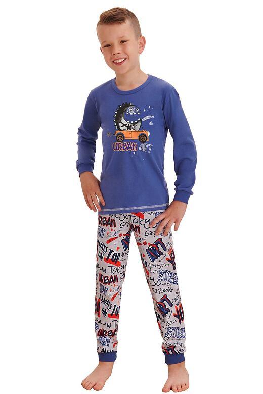 Chlapčenské pyžamo Miloš street modré