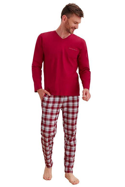 Pánske pyžamo Timon vínové