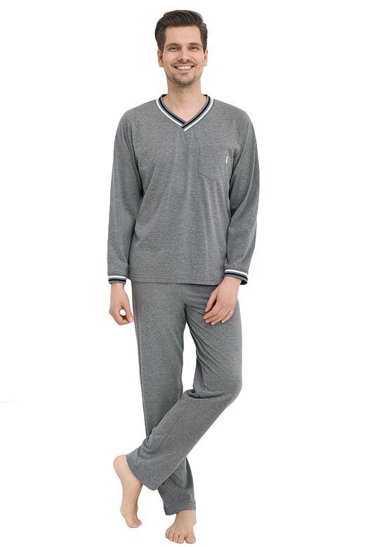 Pánske pyžamo Santiago šedé