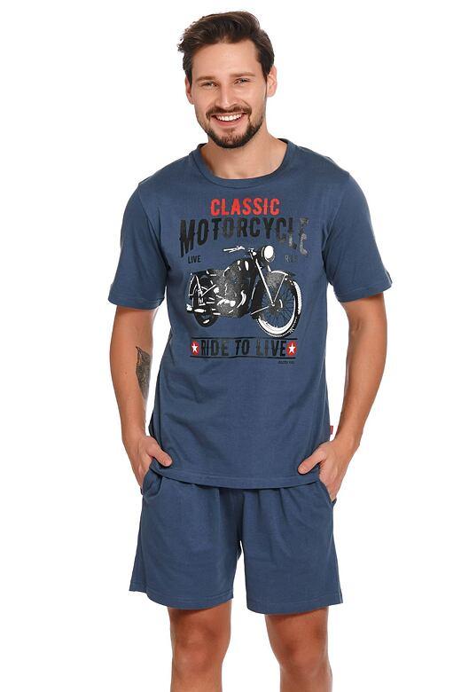 Pánske pyžamo Mario modré