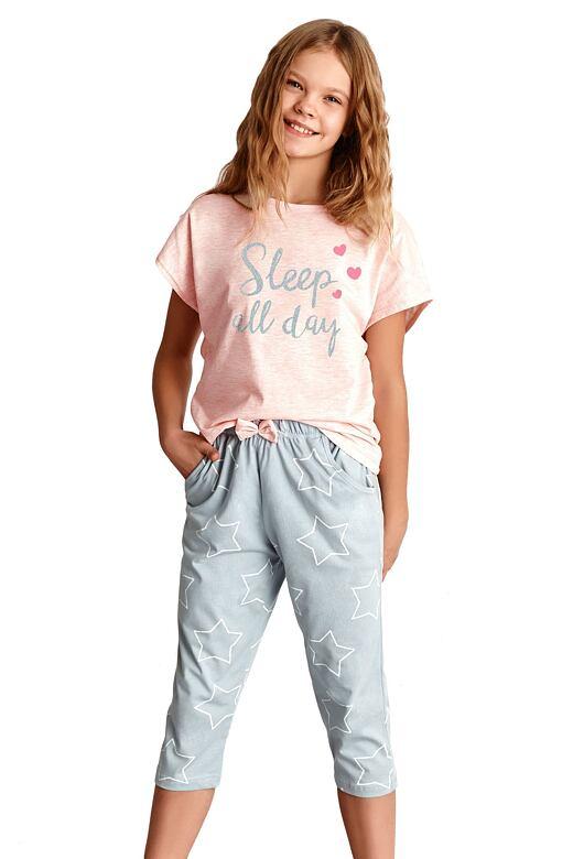 Dievčenské pyžamo Etna ružové