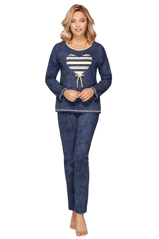 Dámske pyžamo Darja modré
