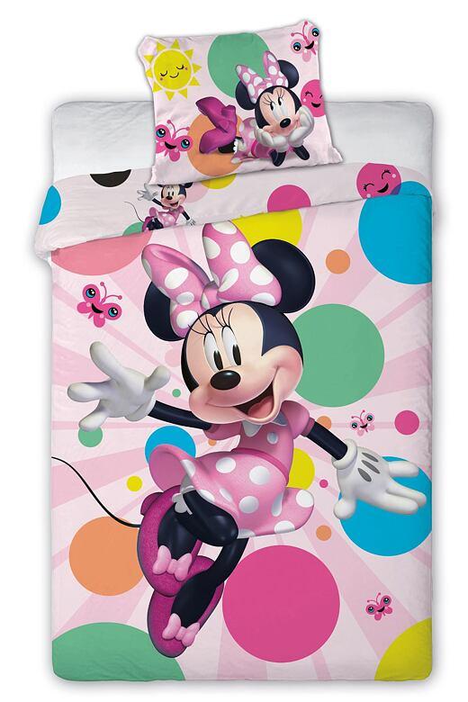 Obliečky Minnie s balónikmi