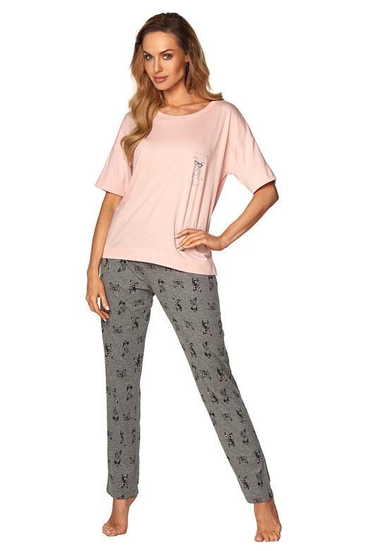 Dámske pyžamo Taylor ružové
