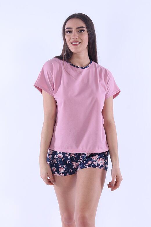 Dámske pyžamo Lada 5 ružové