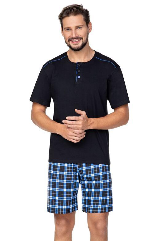 Pánske pyžamo Billy čierne