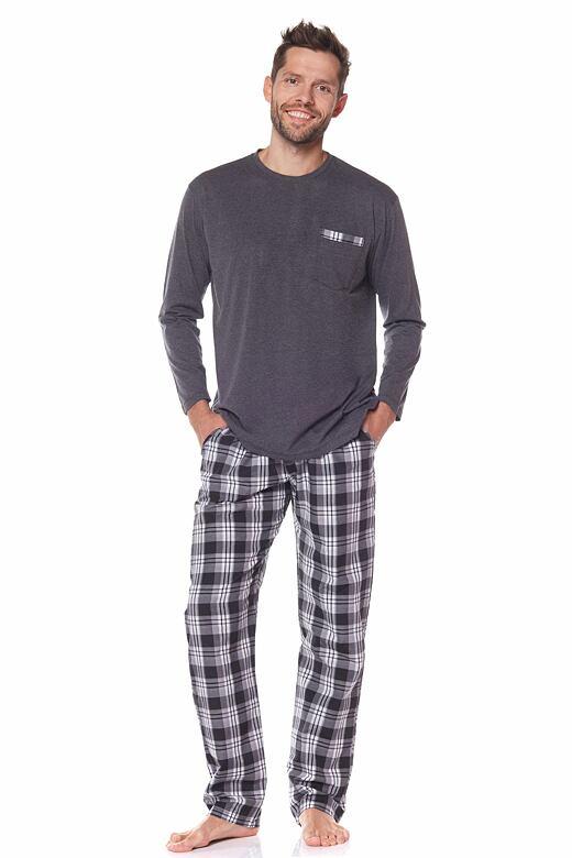 Pánske pyžamo Stanley sivé