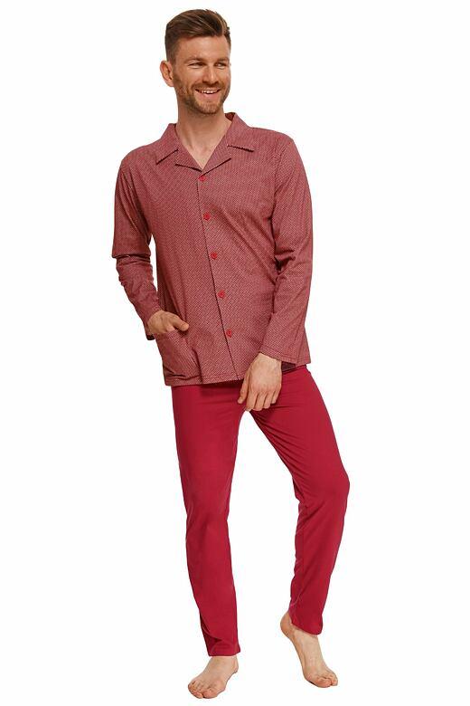Pánske pyžamo Richard červené