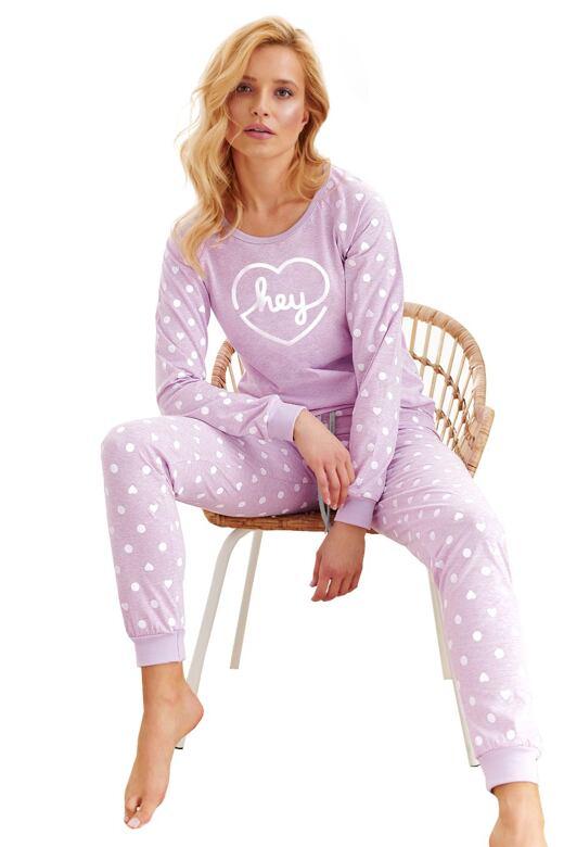 Dámske pyžamo Ami hey fialové