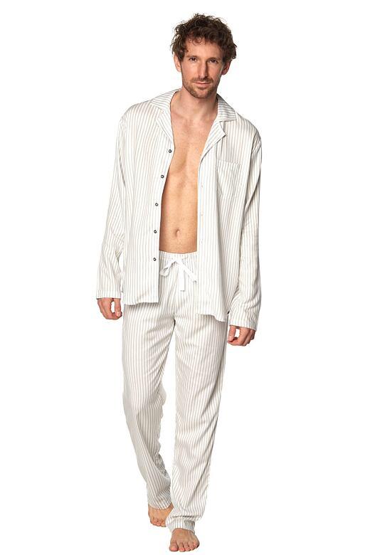Klasické pánske pyžamo Alan pruhy
