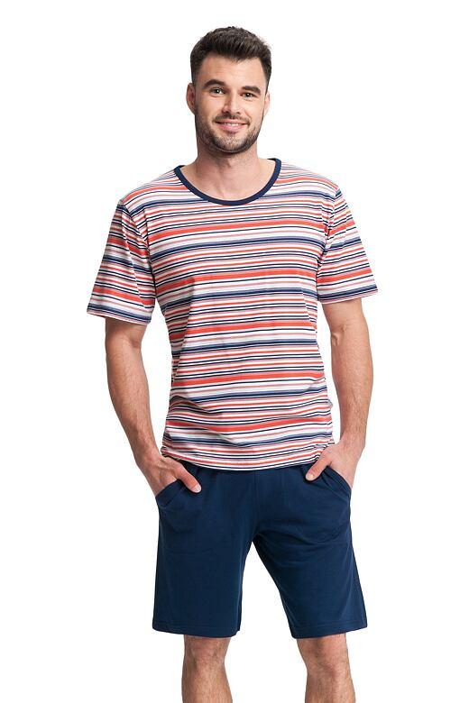 Pánske pyžamo James prúžky