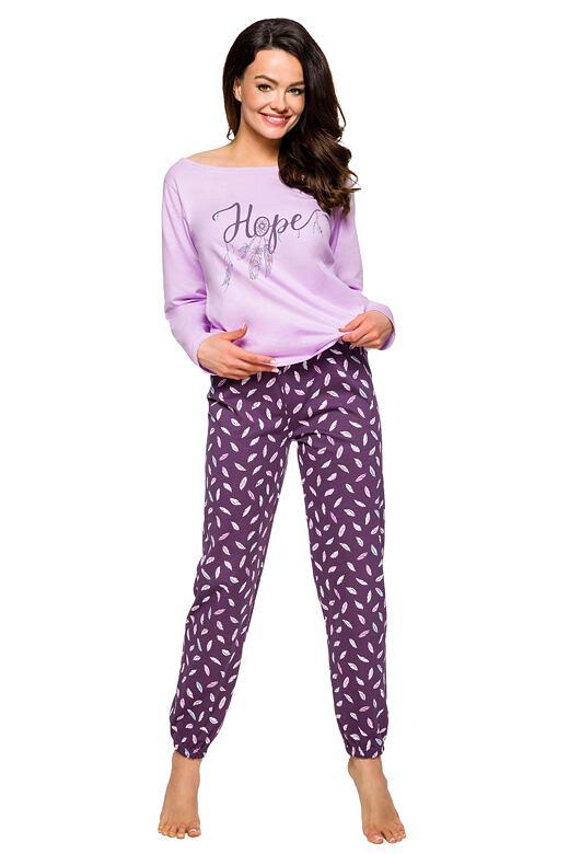 Dámske pyžamo Jula fialové