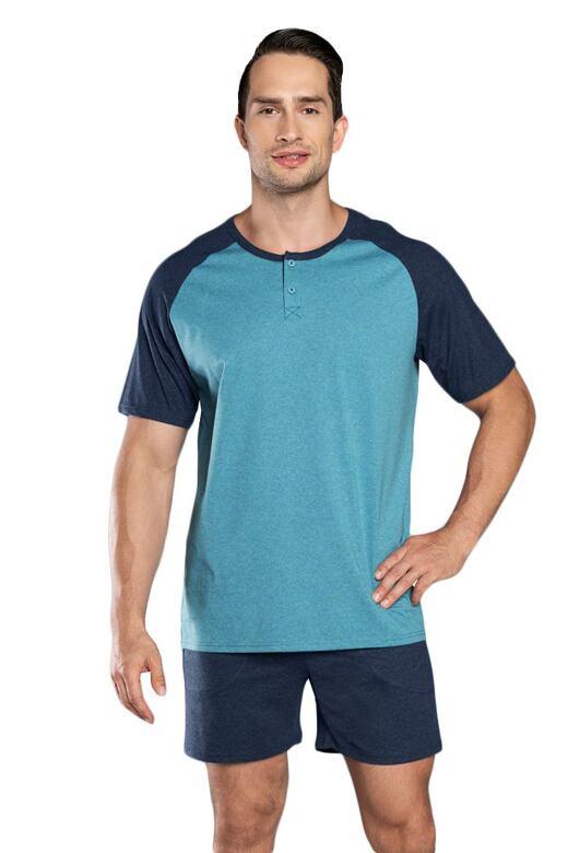 Pánske pyžamo Umberto modré