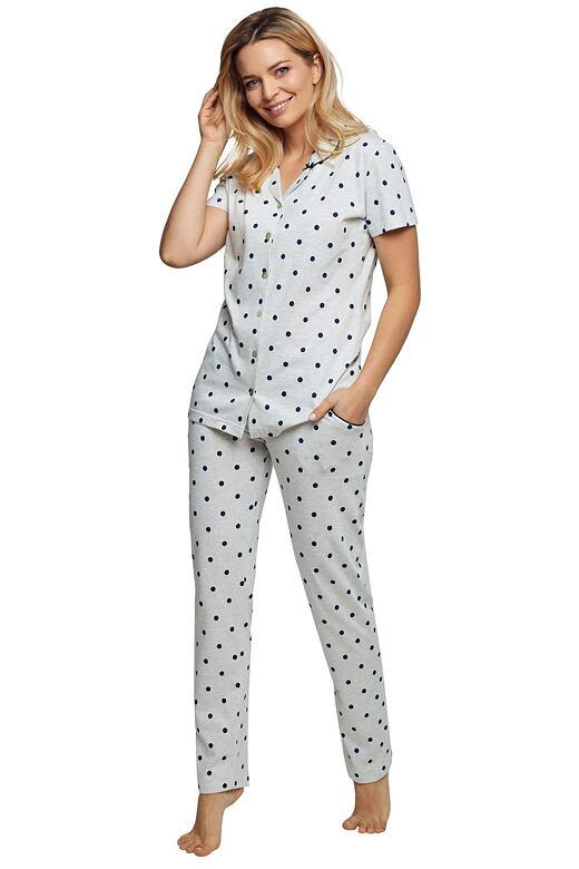 Luxusné dámske pyžamo Poppy bodky