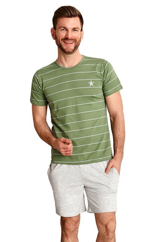 Pánske pyžamo Bruno zelené