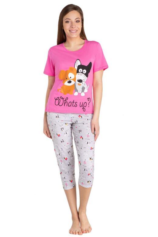 Dámske pyžamo Pets ružové