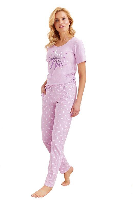 Dámske pyžamo Nadia fialové
