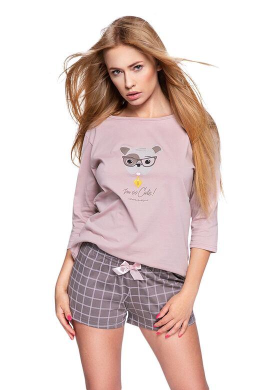 Dámske pyžamo Cane staroružové