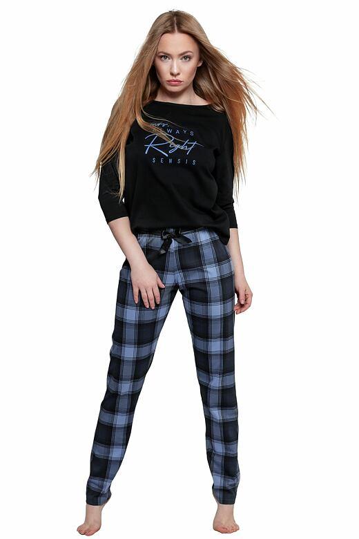 Dámske pyžamo Vicky čierne