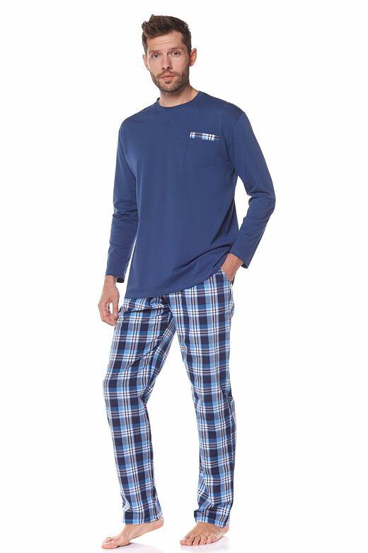 Pánske pyžamo Mateo tmavo modré