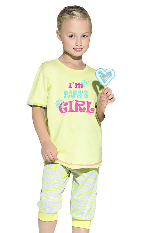 Detské bavlnené pyžamo s nápisom Bianka