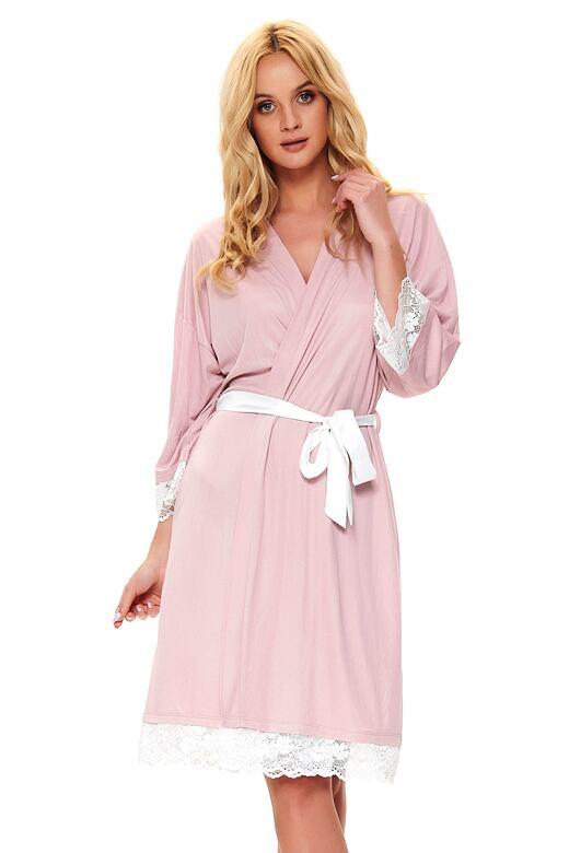 Elegantný dámsky župan Mariana ružový