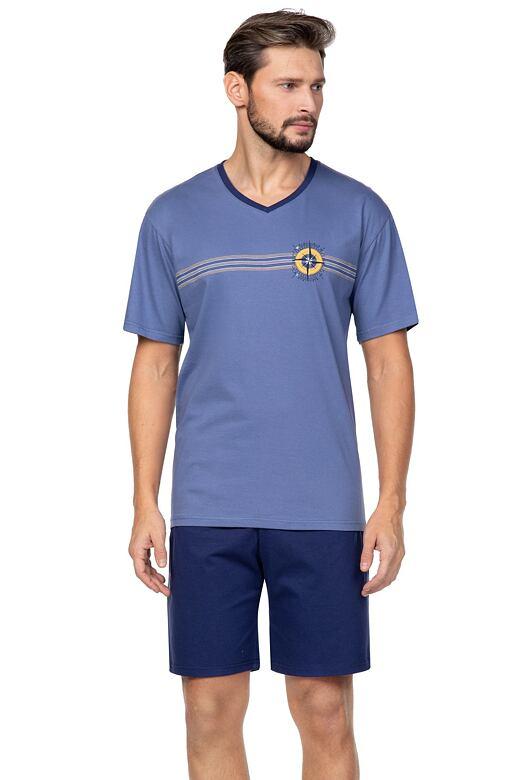 Pánske pyžamo Compass modré