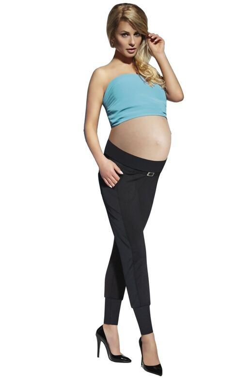Tehotenské legíny Catrine 200 DEN čierne