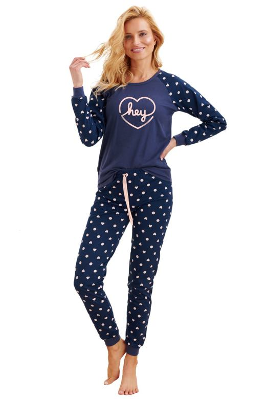 Dámske pyžamo Ami hey tmavo modré