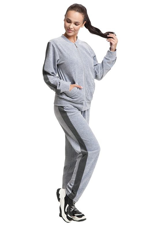 Dámske pyžamo Nora sivé
