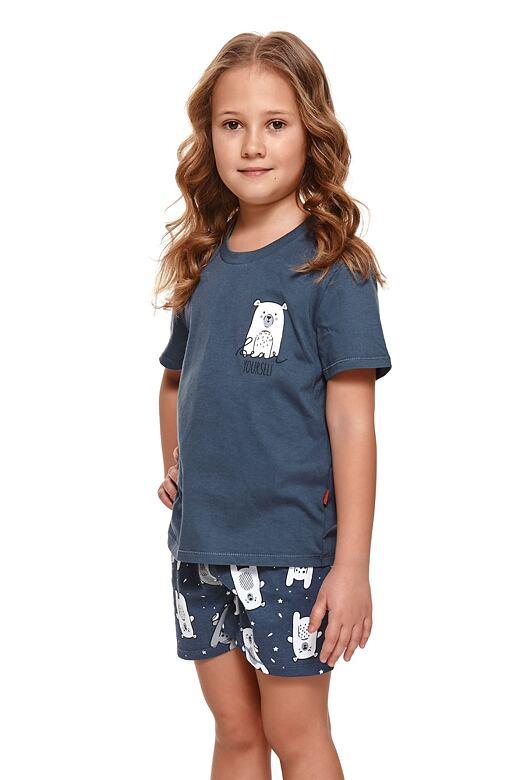 Detské pyžamo Bear modré