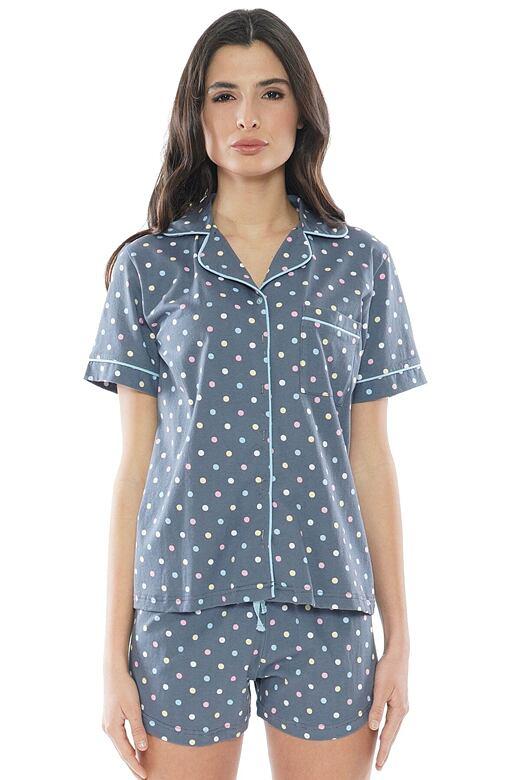 Dámske pyžamo Karla bodky