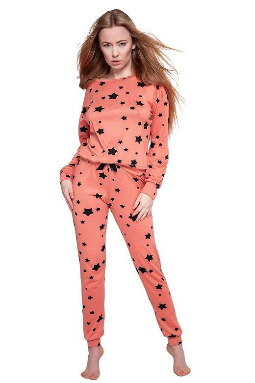 Dámske pyžamo My Way oranžové