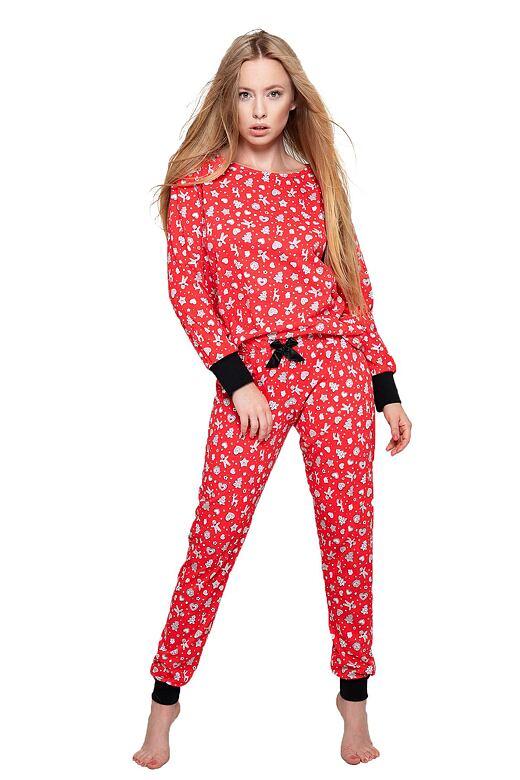 Dámske pyžamo Sue červené