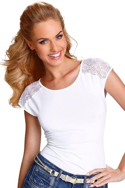 Dámske tričko Tosca biele
