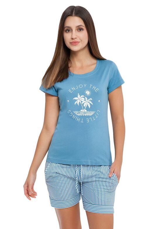 Dámske pyžamo Alma modré