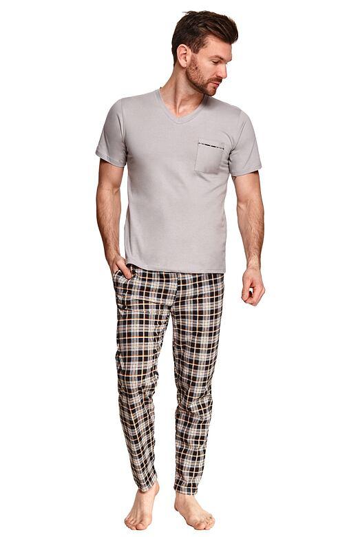 Pánske pyžamo Timon sivé