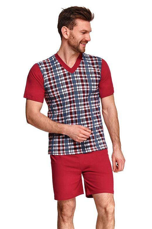 Pánske pyžamo Roman vínové