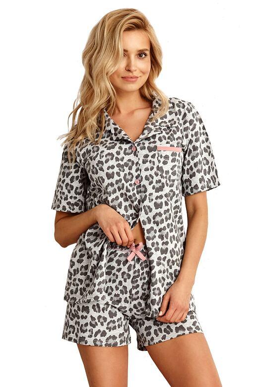 Dámske pyžamo Amy sivé